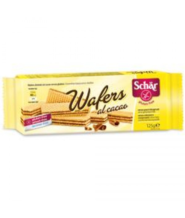SCHAR WAFERS CACAO 125G