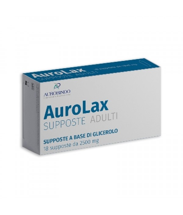 AUROLAX SUPPOSTE 2500MG 18SUPP
