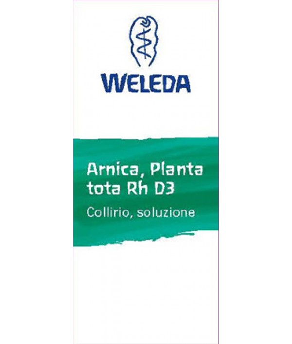 "ARNICA PT D3 COLL 10ML ""WELED"