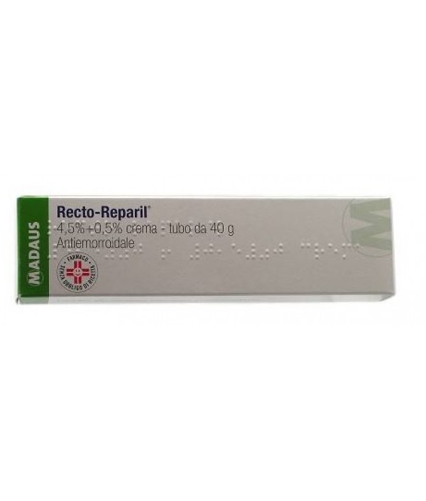 RECTOREPARIL*RETT POMATA 40G