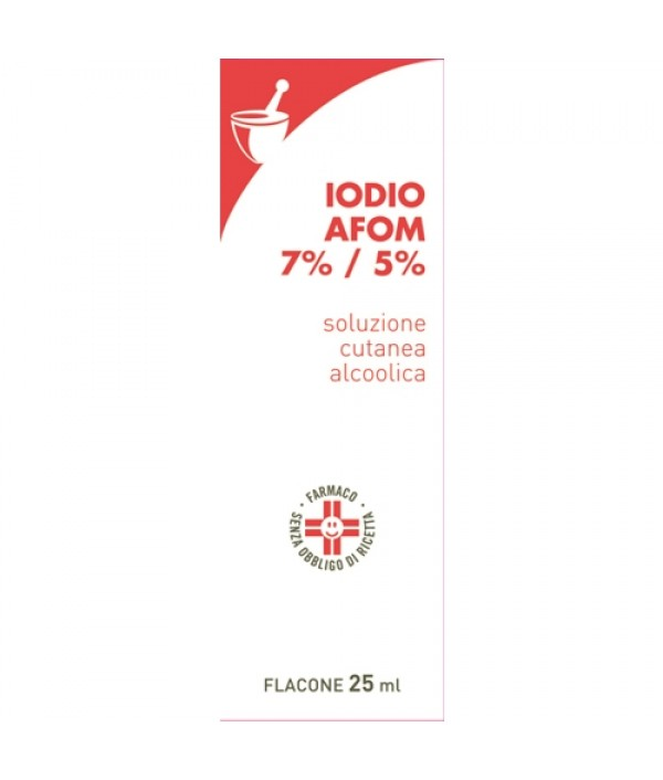 IODIO SOL ALCO I AFOM*25ML
